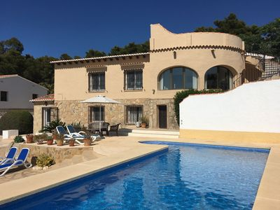 Photo for 3BR Villa Vacation Rental in Javea, Valencia