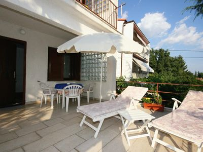 Photo for One bedroom apartment with terrace Selce, Crikvenica (A-5565-c)