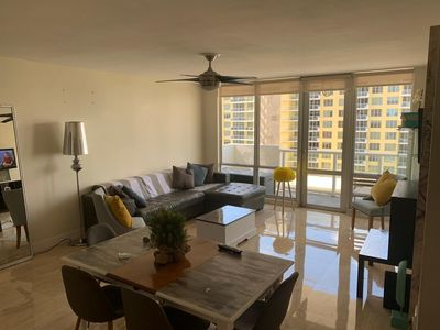 Photo for BalconyView on Miami Beach, 2bed/2bath, sleeps 6