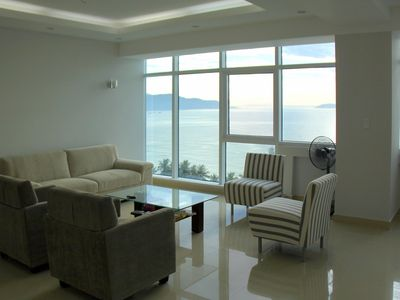 Photo for Wonderful apartment with sea views