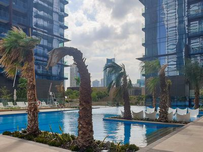 Photo for Homes Getaway - New Luxury Apartment at The Residences at Marina Gate