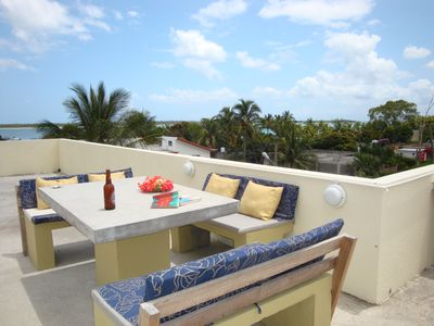 Photo for Studio F Contemorary style Kiting Hiking Kayaking Sublime sea views on roof deck