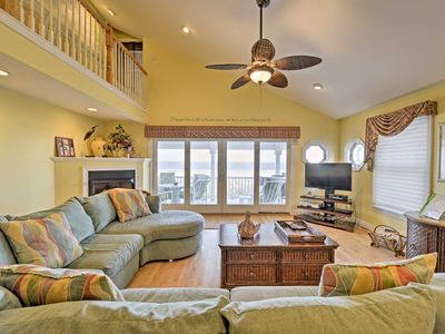 Photo for NEW! Beachfront 5BR Sea Isle City Townhome-6 Decks