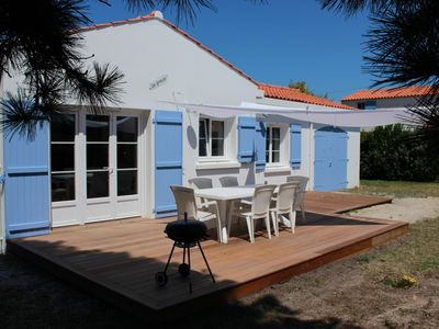 Photo for 700m from the beach of Les Sableaux, House 3 bedrooms renovated in 2018