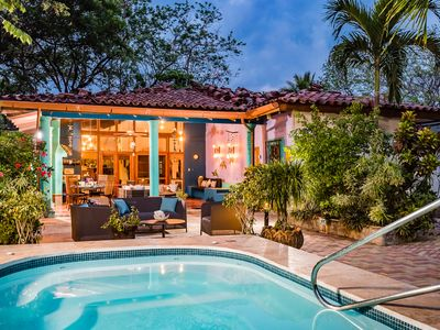Photo for 🏝Top Rated Villa ON THE BEACH With Pool & All The Amenities of a Private Home!