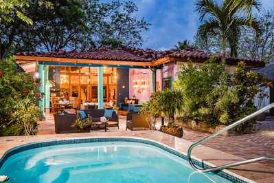 Casa Baula is luxurious indoor/outdoor living, day & night, right on the beach!