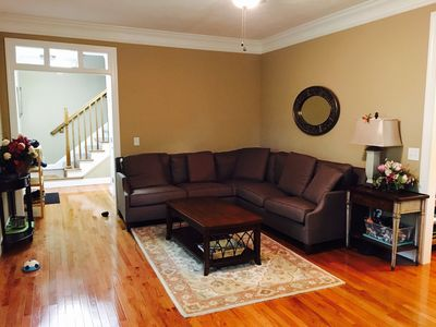 Photo for 5 Bedroom Spacious Upscale Home in Quiet Neighborhood Close to Town