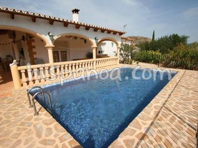 Photo for Villa in Jalon on the Costa Blanca with pool and wifi