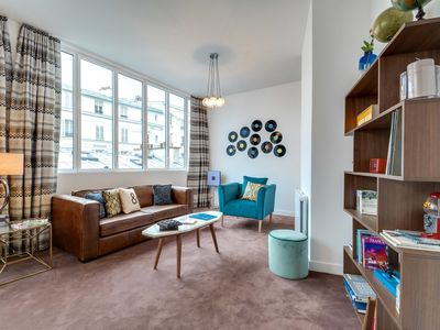 Photo for funky 2-bedroom in the picturesque Montmartre district