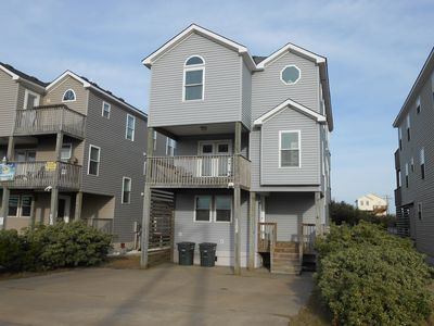 Photo for NAGS HEAD OCEAN VIEW WITH PRIVATE POOL,HOT TUB AND TIKI BAR