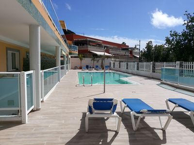 Photo for Golden beach nr 2, Only 75 meters from the beach with a lovely pool.