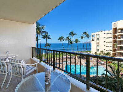 Photo for Luxury Oceanfront Condo at Sugar Beach Resort in Maui sleeps 5