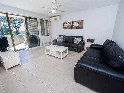 Photo for 4 'Fleetwood' 63 Shoal Bay Rd  - Air conditioned unit with magnificent water views