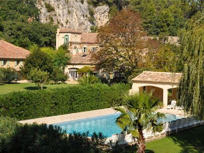 Photo for Mas des Oliviers -  3 Bdrm ancient farmhouse with A/C near St Remy and Avignon