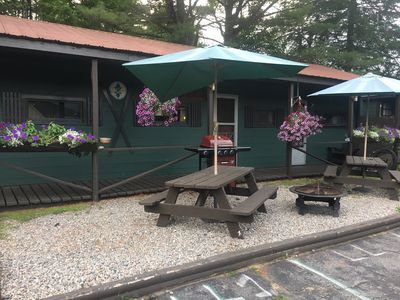 Photo for Loon's Lair, A Beautiful Adirondack 2 Bedroom 3 Bathroom Suite