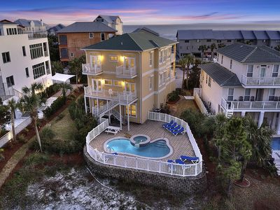 Photo for Seagrove Beach House w/ Private Pool & Amazing Gulf Views! 20% OFF September Stays!