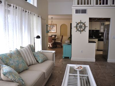 Photo for Condo (remodeled single level) steps from the  beaches of the Gulf of Mexico.