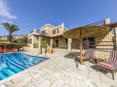 Photo for Newly Built Luxury Stone Villa With Private Pool In Central Peyia