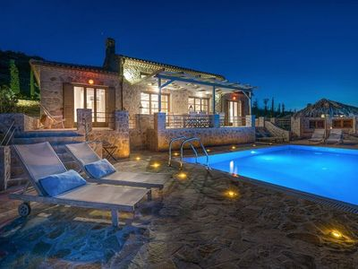 Photo for Villa Tourkouaz Exi with four bedrooms is a very accommodating villa, and features its own private p