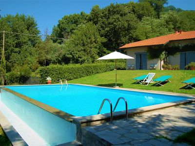 Photo for Villa Alba ideal for families with views on the hills and privacy