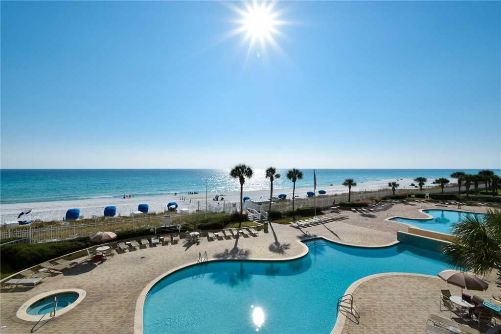 Silver Beach Towers E 305 2 Br 2 Bath Gulf Front Condo