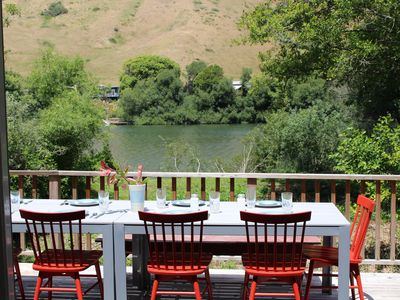 Photo for This home is tranquil on the river and recently remodeled.