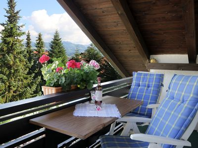 Photo for Apartment / app. for 2 guests with 68m² in Burgberg im Allgäu (124470)