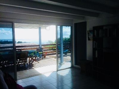 Photo for Carbet Bungalow sea view