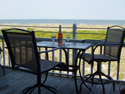 Photo for OCEANFRONT NEW DECK! Villa with Awesome Views! Totally renovated for 2018! Book Now!