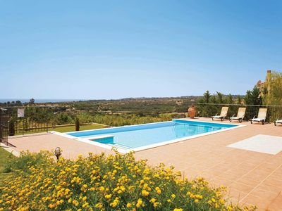 Photo for 3 bedroom Villa, sleeps 6 in Karavados with Pool, Air Con and WiFi