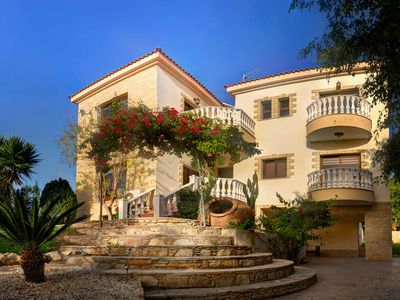 Photo for Amazing Sea Views- 5 Bed - 5 Bath Villa - Private Pool -Wifi -Landscaped Gardens