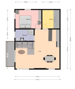 Photo for Apartment Gertrud, 60sqm, 1 bedroom, max. 2 persons