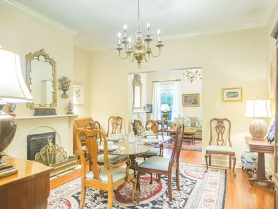Photo for Stay with Lucky Savannah: Beautiful 2 bedroom home overlooking Chatham Square