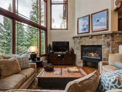 Photo for Bluegrass Availability in Core Townhome, Walk to Gondola, Amazing Views: Trailside at Pine Meadows
