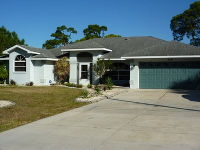 Photo for Pet Friendly, 2 Miles from Nokomis Beach, 3 bedroom 2 bath will pool, sleeps 8