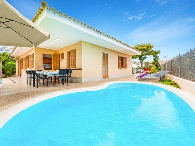 Photo for Can Cladera - Close to the beach & amenities, has a private pool & WI-FI