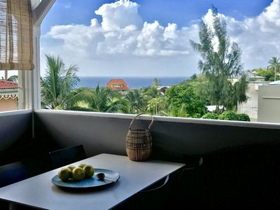 Photo for Painted villa, villa top, sea view and punch tray!