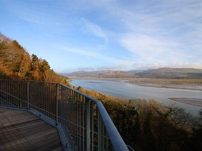 Photo for Looking for a bit of luxury? This apartment with stunning views over the Dyfi Estuary ticks every bo