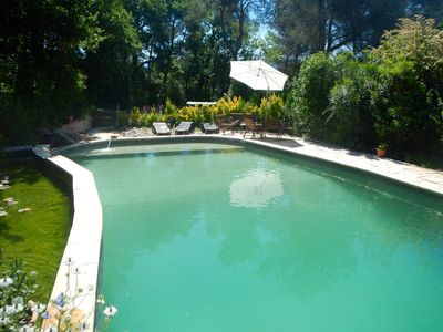 Photo for Beautiful 3 bedroomed , 2 bathroomed property with superbe garden and pool.