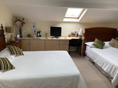 Photo for You have the top of the house!  Family Bedroom with large en-suite bathroom.