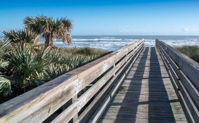 Photo for Light and Airy 2 Bedroom Oceanfront Condo!  New Smyrna Beach!