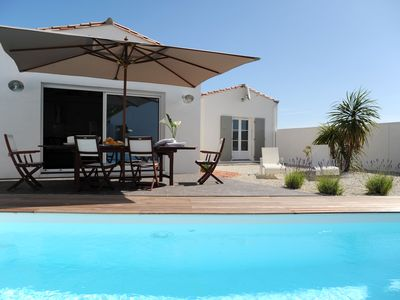 Photo for CONTEMPORARY VILLA WITH INDIVIDUAL HEATED SWIMMING POOL, WIFI