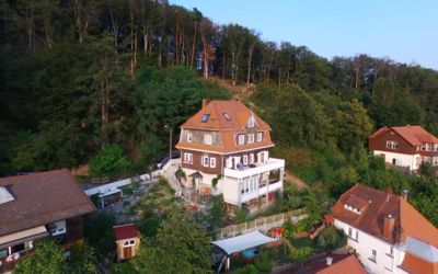Photo for Waldheim Lindenfels Apartment on the forest & above the roofs of Lindenfels