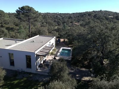 Photo for Loft-villa heated swimming pool Pinarello calm near porto vecchio and its beaches