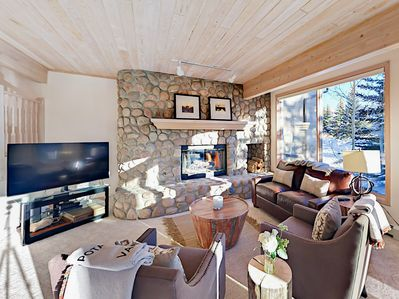 Living Room - Welcome to Vail! Your rental is professionally managed by TurnKey Vacation Rentals.