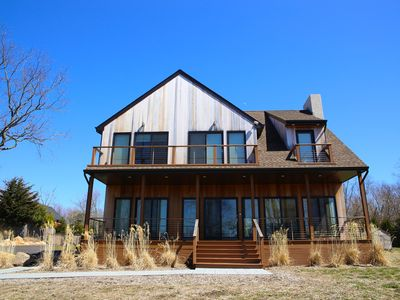 Photo for Immaculate New Construction Summer Getaway Home on Shelter Is. with heated pool