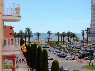 Photo for Empuriabrava apartment with sea views in the center