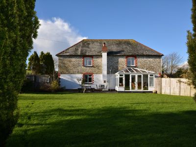 Photo for House in Looe, Cornwall - 2 Minute Drive From Looe Beach, Countryside Views.