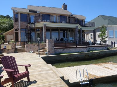 Photo for Beautifully Remodeled Lakefront Vacation Home