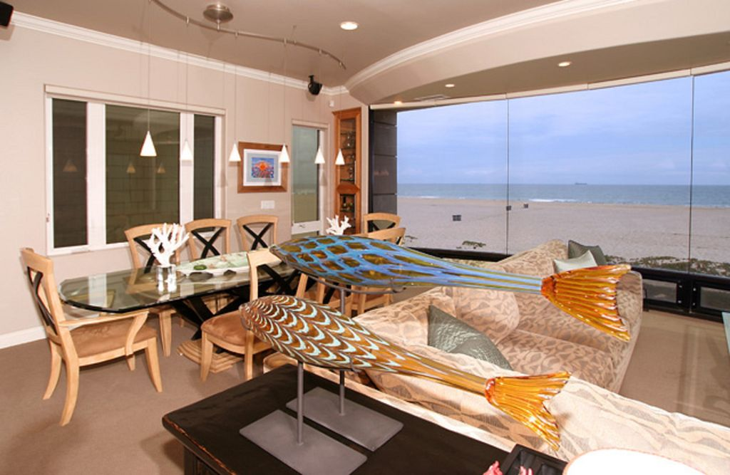 Beachfront 5 Bedroom Southern California Home Sunset